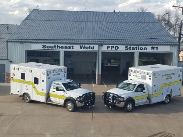 3921 & 3923 Dodge:AEV Ambulances